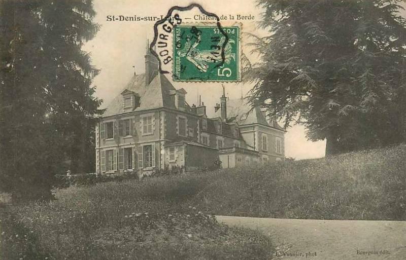 Le Château de La Borde fin XIXème siècle