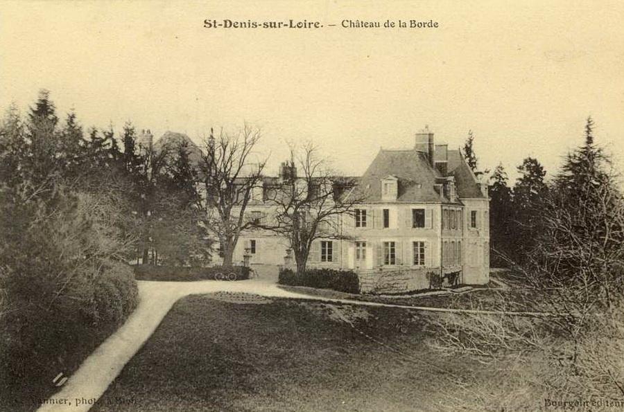 Le Château de La Borde début du XXème siècle